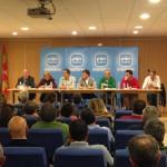 Reunión Torrecaballeros con alcaldes y concejales