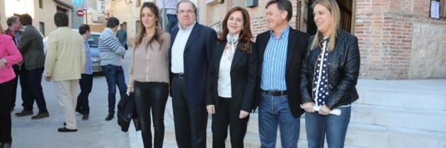 El PP de Segovia apuesta por el municipalismo en un acto en Carbonero el Mayor con Juan Vicente Herrera