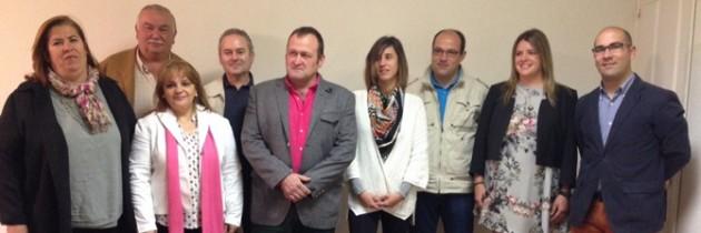 Juan Carlos Gómez presenta su candidatura al Real Sitio de San Ildefonso