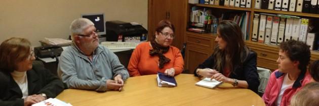 Raquel Fernández se reúne con FRATER para hablar sobre accesibilidad