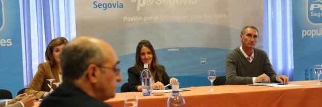 Raquel Fernández destaca la importancia del urbanismo y del sector servicios en una ciudad patrimonio de la humanidad como es Segovia