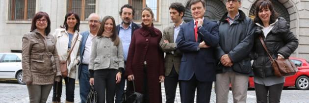Raquel Fernández y su equipo presentan su candidatura a la Alcaldía de Segovia ante la Junta Electoral