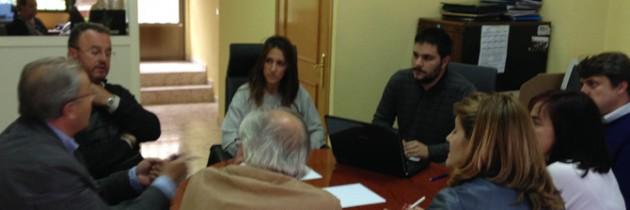 Los taxistas piden racionalizar el servicio en Segovia y su alfoz en su reunión con Raquel Fernández