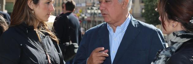 Javier Arenas apoya a Raquel Fernández y Silvia Clemente en Segovia