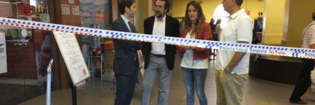 Raquel Fernández culpa al gobierno socialista de que Segovia tenga un apeadero en lugar de una estación de autobuses
