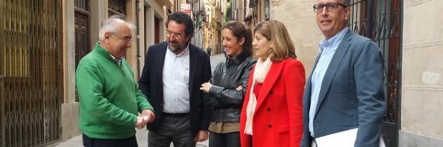 Raquel Fernández considera fundamental la aprobación de un PEAHIS dirigido a frenar el proceso de deterioro del casco histórico