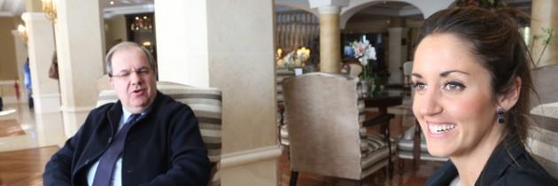 Juan Vicente Herrera compromete a Raquel Fernández la construcción del Centro de Salud Segovia IV