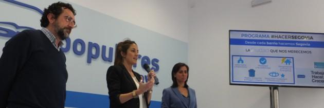 """Raquel Fernández habla de """"la ciudad que nos merecemos"""" en el bloque del programa electoral dedicado a Urbanismo, Patrimonio Medio Ambiente y Movilidad"""