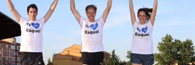 El doble campeón mundial de Maratón, Abel Antón arropa a Raquel Fernández en la presentación de su programa de Cultura, Turismo y Deportes