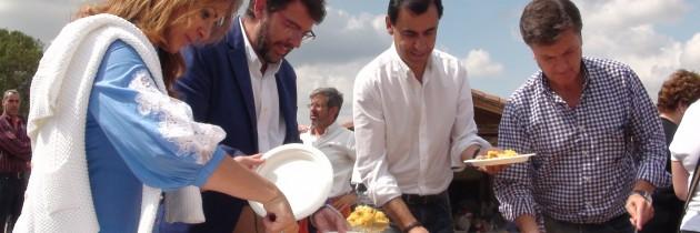 El PP de Segovia inicia el curso político con una comida en Prádena