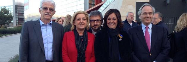 Los candidatos del PP al Congreso y al Senado en la presentación de Burgos
