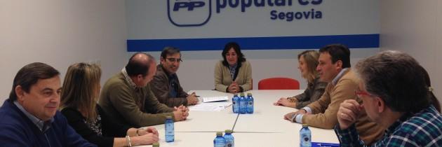 Beatriz Escudero, encabeza la lista al Congreso por el Partido Popular de Segovia