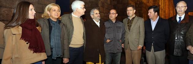 Rafael Catalá, con los candidatos del PP de Segovia
