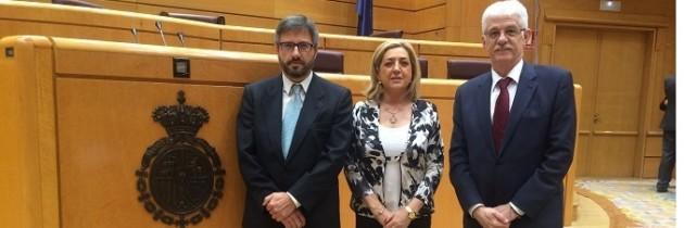 Los Senadores del PP de Segovia en defensa de la unidad de España, otros se ponen de perfil