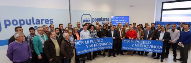 El PP defiende la labor de las Diputaciones por la ayuda que prestan a los municipios