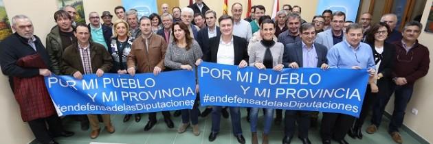 Francisco Vázquez en defensa de las Diputaciones, con alcaldes en los partidos judiciales de Segovia y de Santa María la Real de Nieva