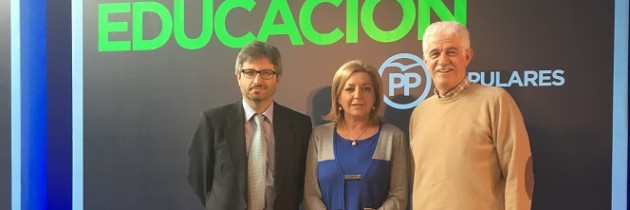 Participación activa de los senadores de Segovia, en la «Convención sobre el Pacto por la Educación» del PP