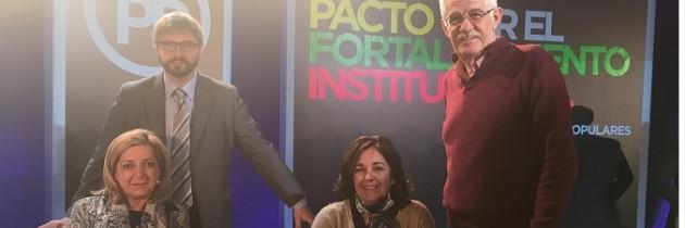 Los parlamentarios nacionales de Segovia participan en la Convención «Pacto por el Fortalecimiento Insitucional» del PP