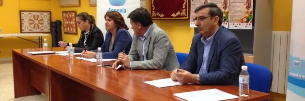 Francisco Vázquez preside una reunión sobre la ordenación del territorio en Cantimpalos