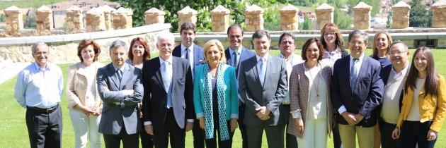 El PP de Segovia presenta sus listas al Congreso y al Senado en la Junta Electoral