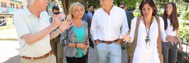 Esteban González Pons participa en la campaña del PP de Segovia