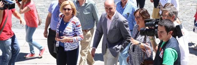 Luis de Guindos apoya con su presencia en Segovia a los candidatos del PP