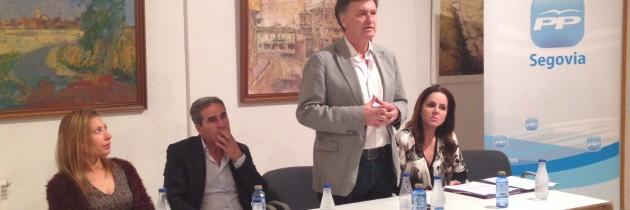 Francisco Vázquez y Silvia Clemente explican a los alcaldes del PP la Ley de Ordenación del Territorio de la Junta