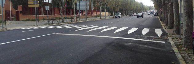 El GMP muestra su preocupación por las deficiencias aparecidas en la avenida de la Constitución con la obra recién acabada