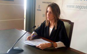 Rueda de prensa Raquel Fernández