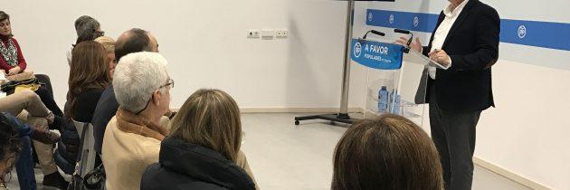 Los congresos nacional, regional y provincial marcan la programación del PP de Segovia para los próximos meses