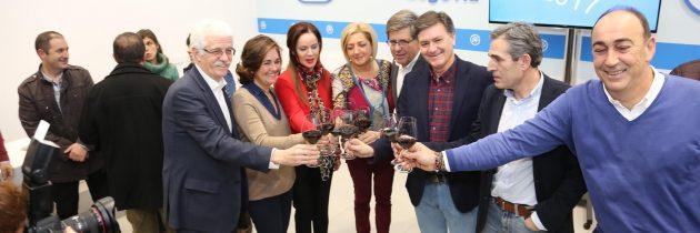 El PP de Segovia da la bienvenida al año nuevo