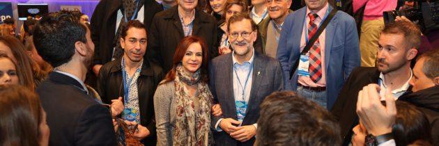 El PP de Segovia muestra su apoyo a Mariano Rajoy