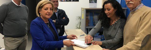 Paloma Sanz, única precandidata a la Presidencia del PP de Segovia