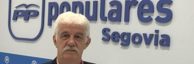 Juan Ramón Represa, Vicesecretario de Organización y Senador del PP, pide al PSOE un verdadero compromiso con Segovia