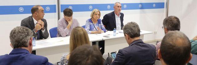El Comité Ejecutivo Provincial del PP muestra su apoyo unánime a las decisiones del Gobierno de España para frenar el referéndum ilegal