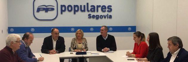 La Dirección Provincial del Partido Popular de Segovia coordina la actividad de las vicesecretarías