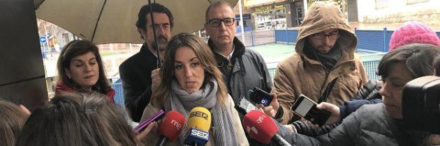 Raquel Fernández: «El único culpable de la situación del aparcamiento de José Zorrilla es el Partido Socialista»