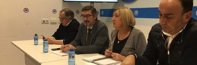 José Ángel Arranz recuerda en la sede del PP de Segovia que el PRUG es en este momento un documento abierto a alegaciones
