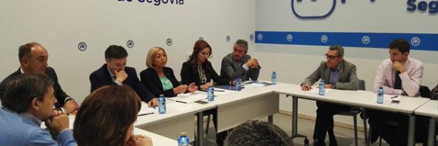 El PP de Segovia apunta a la creación de empleo que está experimentando España como principal fuente de sostenibilidad del sistema de pensiones