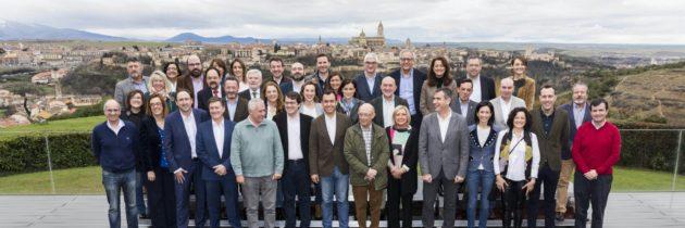 El PP celebra una reunión del Comité de Gobierno Locales en Segovia