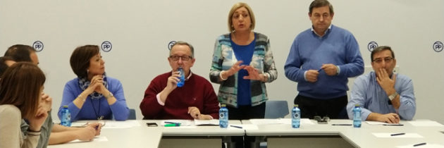 Paloma Sanz inaugura el curso de  formación sobre la relación entre los  Ayuntamientos y la Administración  Pública organizado por la Vicesecretaría de Política Territorial del PP de Segovia