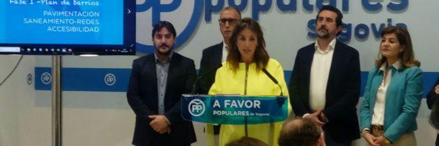 El PP en el Ayuntamiento presenta el plan de actuación en los barrios «Imagina tu barrio»