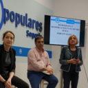 """El tercero de los foros dedicados al medio rural del PP de Segovia repasa la situación de un """"problema silencioso"""" en todo el continente europeo: la despoblación"""
