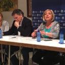 """El PP de Segovia celebra una nueva reunión territorial en la que Paloma Sanz critica al PSOE y a su secretario general por """"intentar llegar al poder sea como sea"""""""