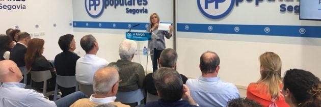 Paloma Sanz anuncia en la reunión del Comité Ejecutivo Provincial que 34 compromisarios asistirán por Segovia al XIX Congreso Nacional del Partido Popular