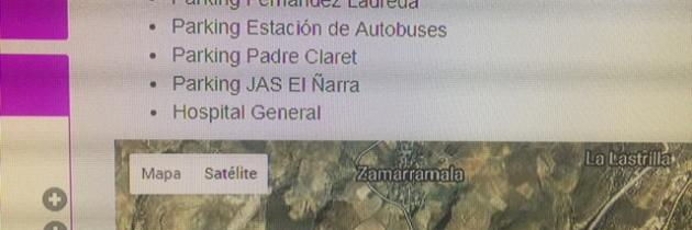 La falta de actualización de la página web de movilidad, otro síntoma de dejadez del gobierno de Clara Luquero