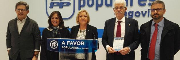 Los parlamentarios nacionales del PP de Segovia critican el carácter destructivo e irresponsable del Gobierno de Pedro Sánchez