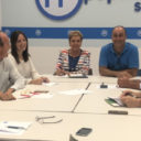 Paloma Sanz se reúne con los vicesecretarios del partido para analizar las actuaciones llevadas a cabo y planificar las siguientes de cara a las elecciones de 2019