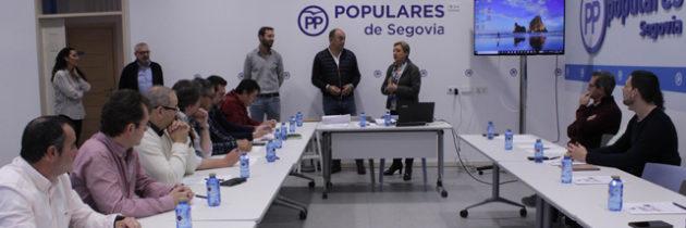 El Partido Popular de Segovia forma a sus alcaldes y portavoces en el manejo de técnicas de comunicación