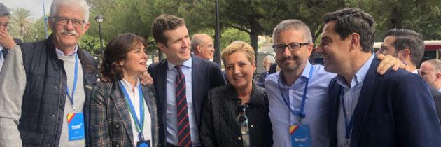 Varios parlamentarios del PP de Segovia asisten en Sevilla a la vigésima tercera reunión Interparlamentaria Popular, con la economía y el bienestar social de fondo